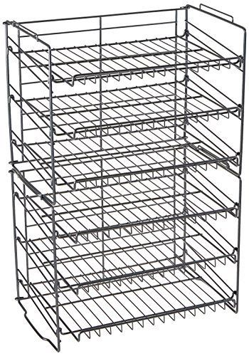 Food Pantry Organization Kitchen Shelves Storage Can Cabinet Wire Spice Rack USA 1