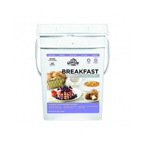 Breakfast Food Supply Pail Emergency storage Augason Farms survival kit camping 1