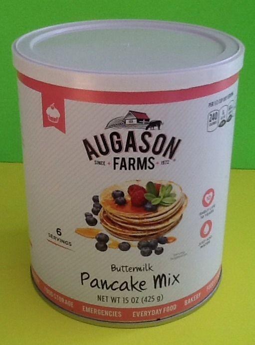 Augason Farms 15 Oz Buttermilk Pancake Mix Emergency Food Storage Survival EMP 1
