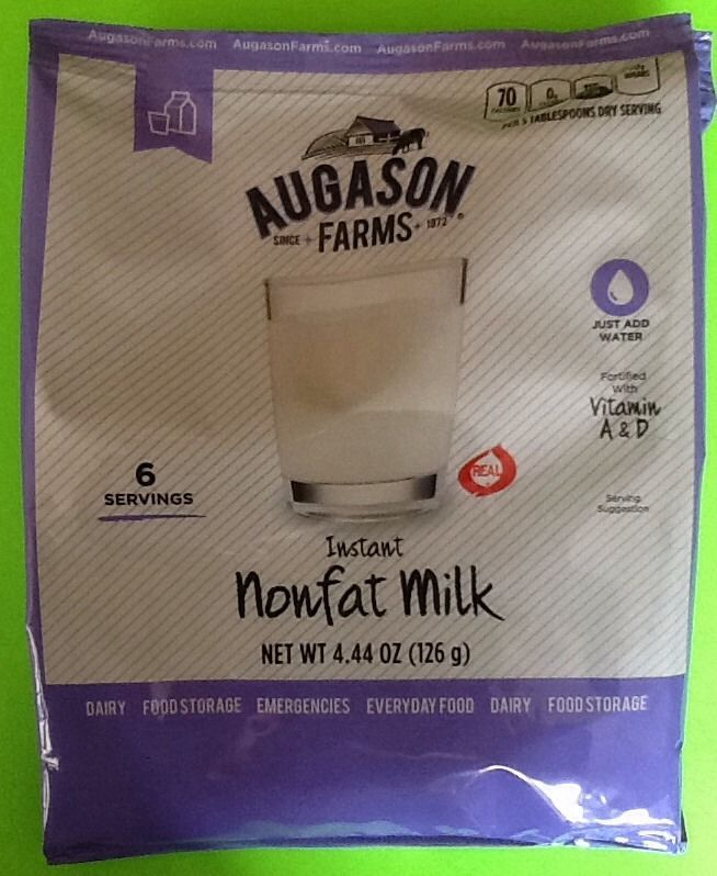 Augason Farms Instant Nonfat Milk Emergency Food Storage Survival Preppers 1