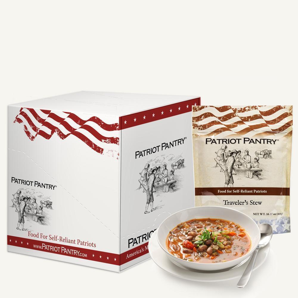 Traveler's Stew Case Pack (32 servings, 8 pk.) Emergency Food Storage 1