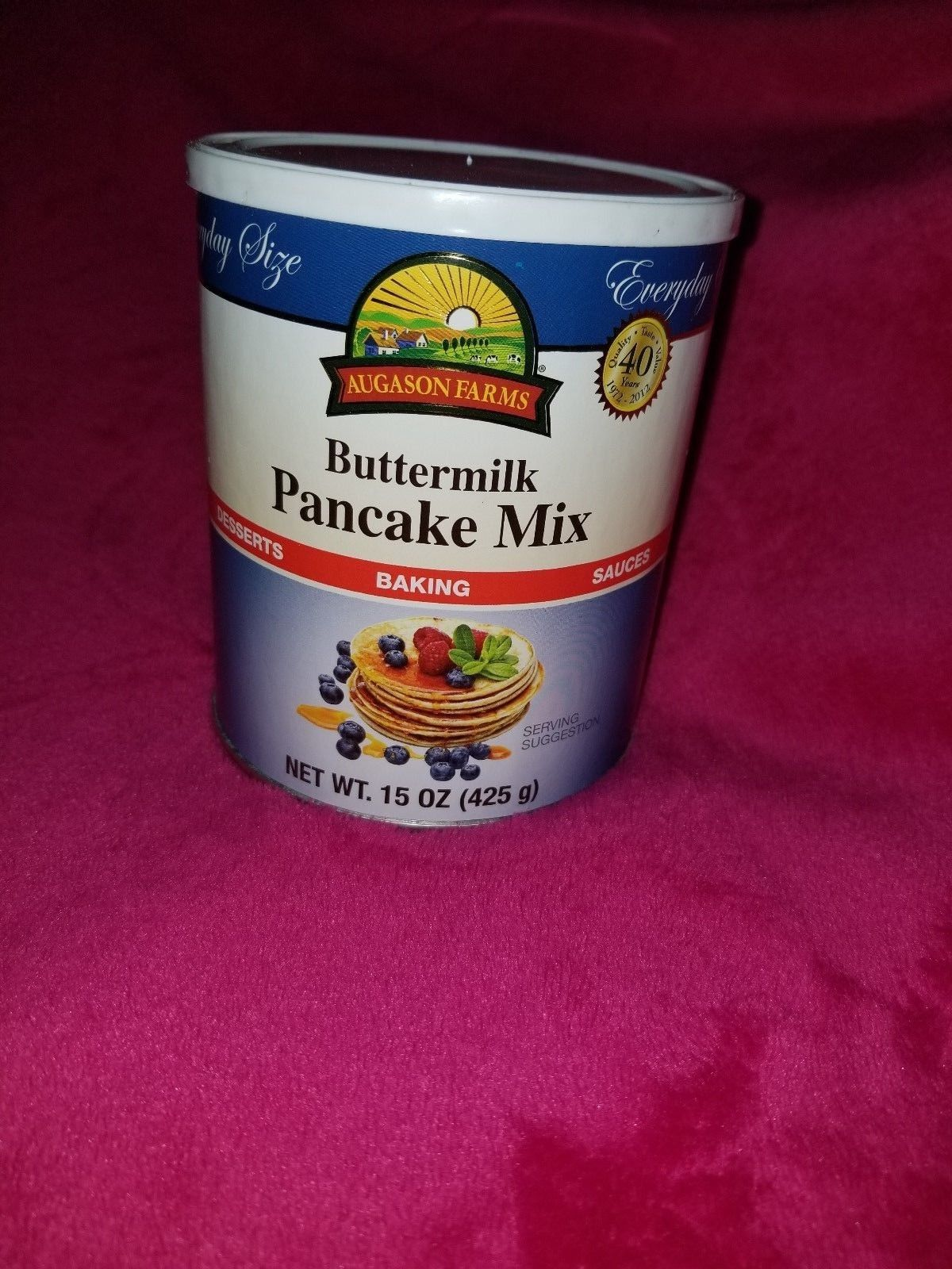 Augason Farms Buttermilk Pancake Mix Emergency Food Storage Survival Prepper 1
