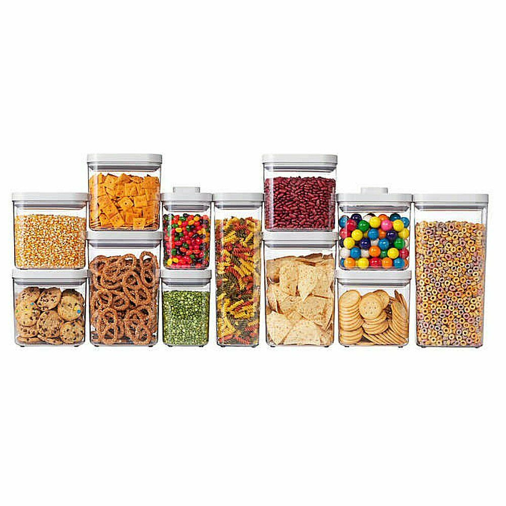 OXO SoftWorks 12-piece POP Container Set, Food Storage, Airtight Seal 1