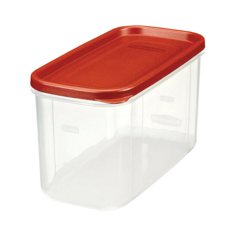 Rubbermaid Dry Food Storage 10 Cup Clear Base 1