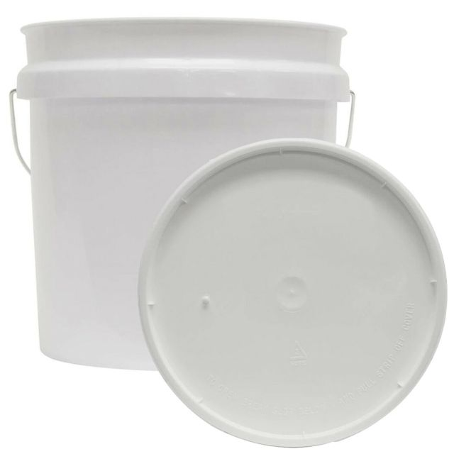 2 GALLON RESIDENTIAL BUCKET Food Grade BPA Free Plastic Storage Holder With Lid 7