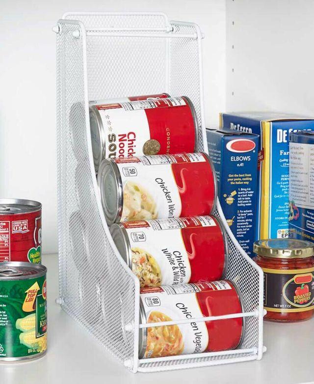 Can Food Organizer Canned Storage For Pantry Space Saving Shelf Organization Bin 6