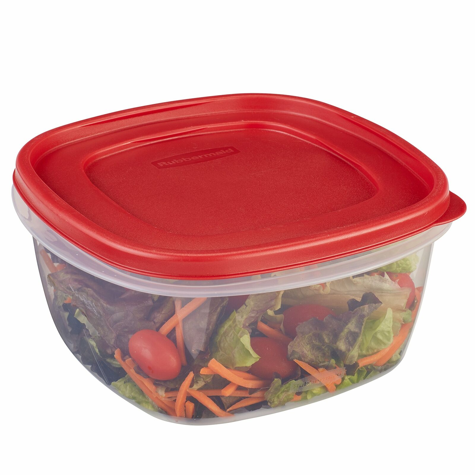 Rubbermaid Easy Find Lids Food Storage Container 14 Cup Racer Red 1777161 1