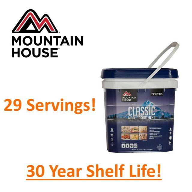Mountain House Classic Bucket - Emergency Freeze Dried Food Storage - CLEARANCE! 10