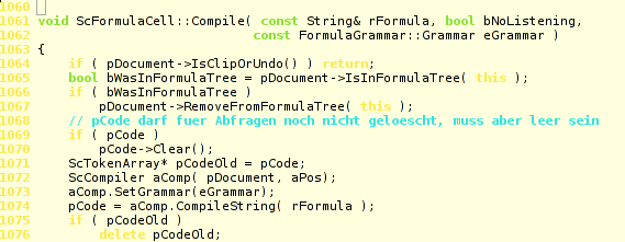 ScColumn::CompileDBFormula showing the line where the segfaults takes place