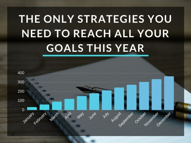 The Only Strategies You Need to Reach All Your Goals this Year