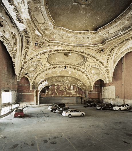 Michigan Theatre, Detroit, MI. 2008. Photo by Sean Hemmerle. http://seanhemmerle.com/