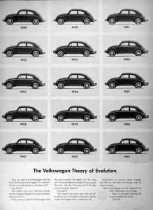 volkswagen theory of evolution
