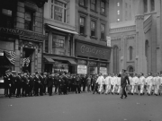 White Wings march. n.d. Photo DSNY.