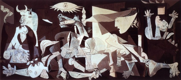 Guernica, Pablo Picasso, 1937.