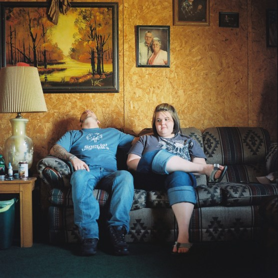 Couple recovering from domestic chemical exposure. Oklahoma, March 2012. Photo by Akasha Rabut. From the original article.