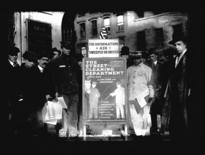 Recruitment poster. Circa 1930. DSNY.