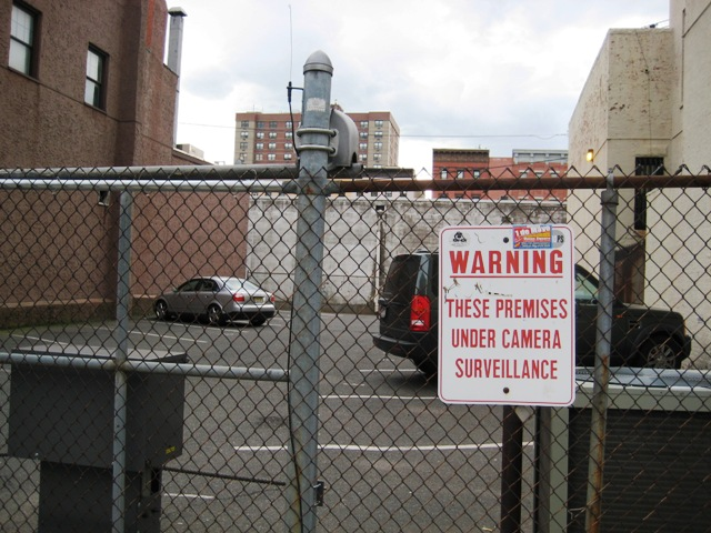 surveillance sign