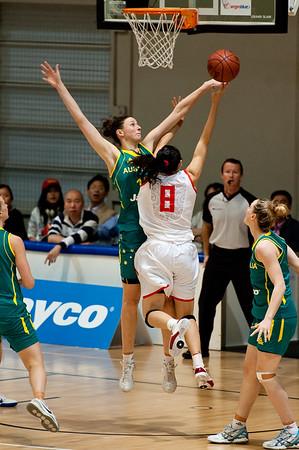 Elyse Penaluna - Opals v China International Women's Basketball, Logan Metro Sports Centre, Crestmead, Queensland, Australia; 24 July 2011. Photos by Des Thureson:  http://disci.smugmug.com.