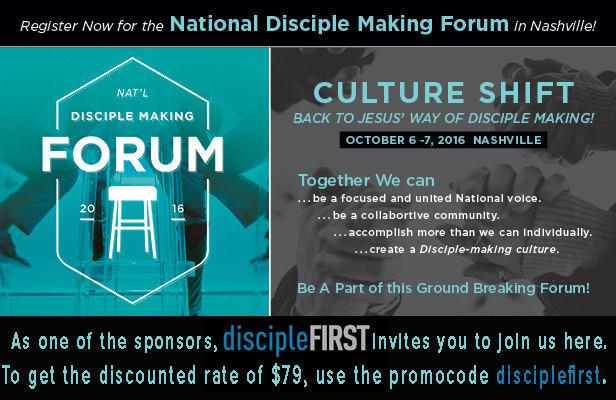 DF Banner Ad – discipleFIRST