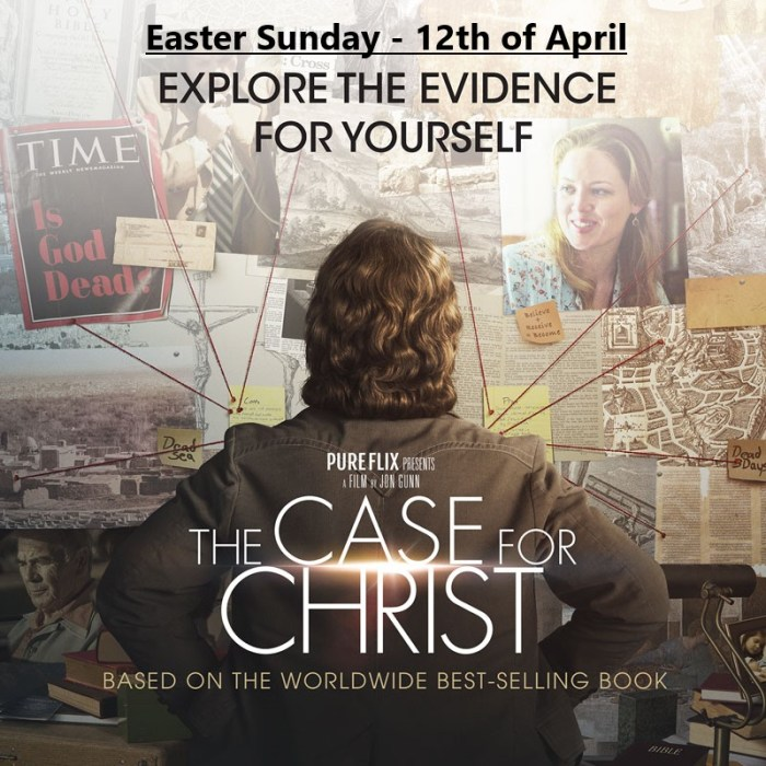 Easter The Case For Christ 12April