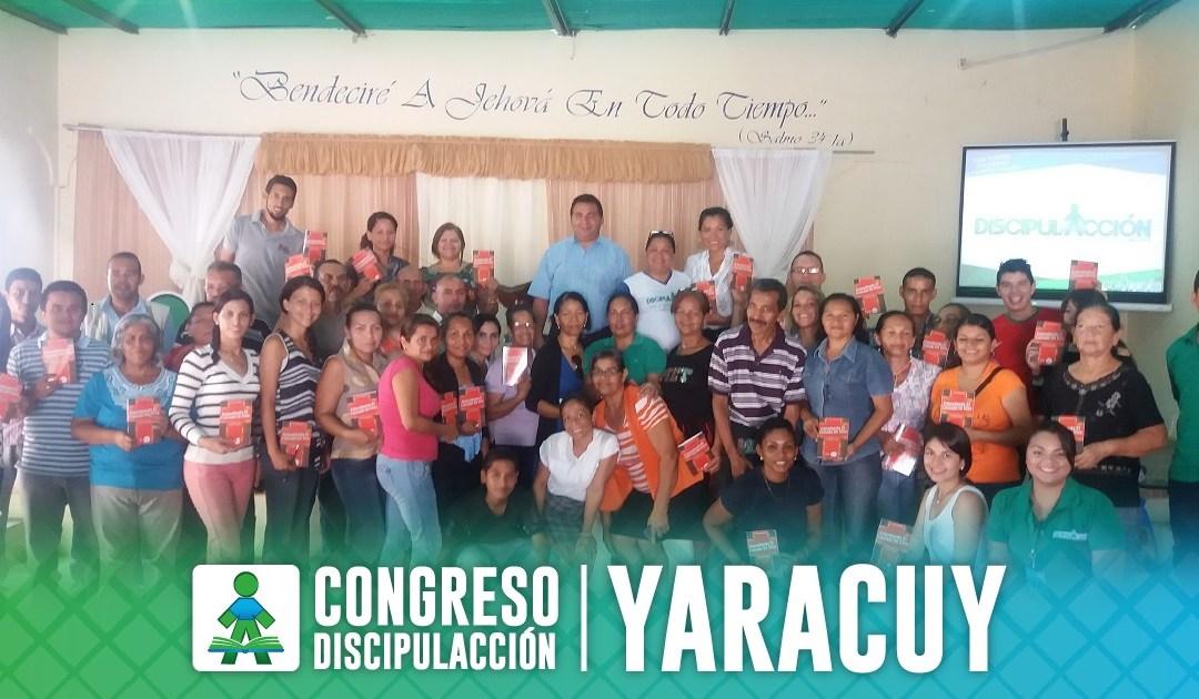 ¡CONGRESO DISCIPULACCIÓN YARACUY!