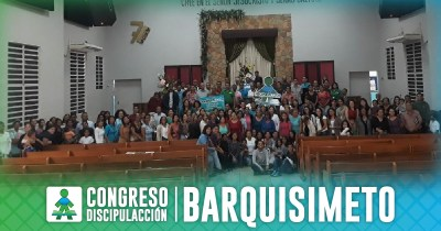 ¡CONGRESO DISCIPULACCIÓN BARQUISIMETO!