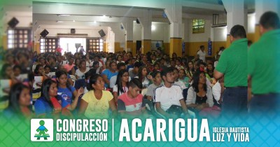 ¡CONGRESO DISCIPULACCIÓN ACARIGUA!