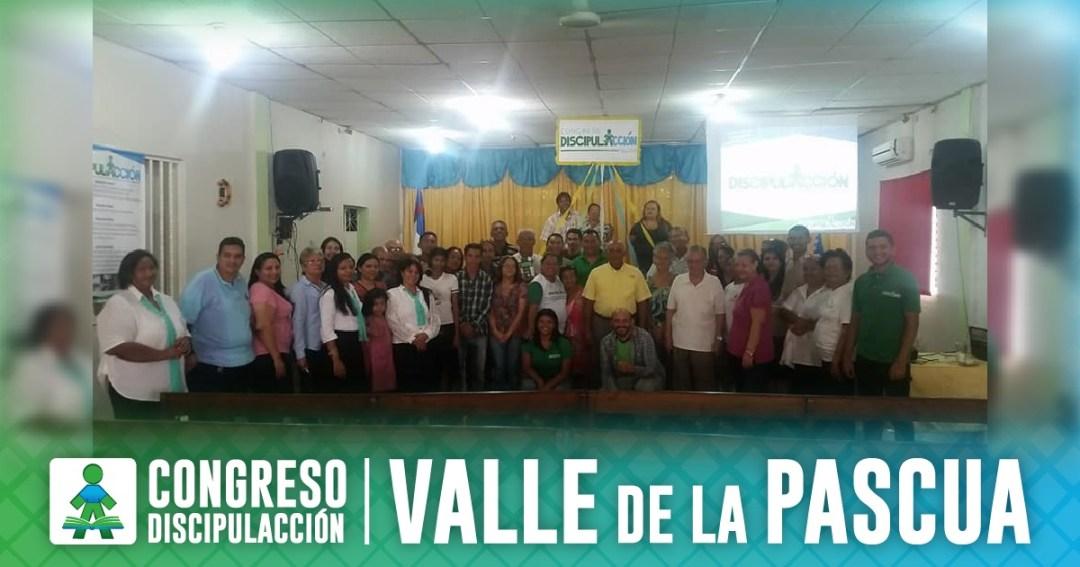 ¡CONGRESO DISCIPULACCIÓN VALLE DE LA PASCUA!