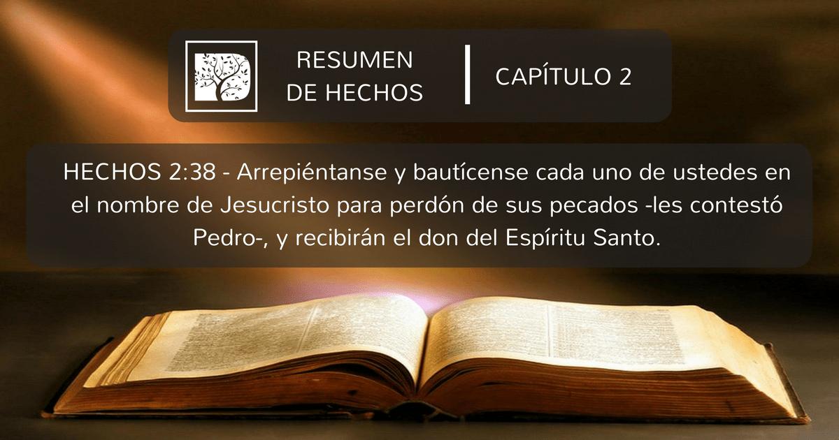 Resumen de Hechos: Capítulo 2 – Discipulado Cristiano