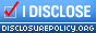 I Disclose! disclosurepolicy.org