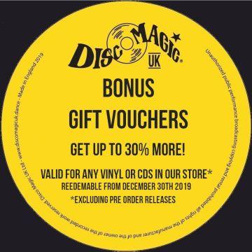Bonus Gift Vouchers