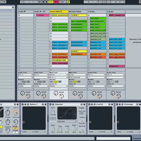 DiscoPix AbletonLive Square