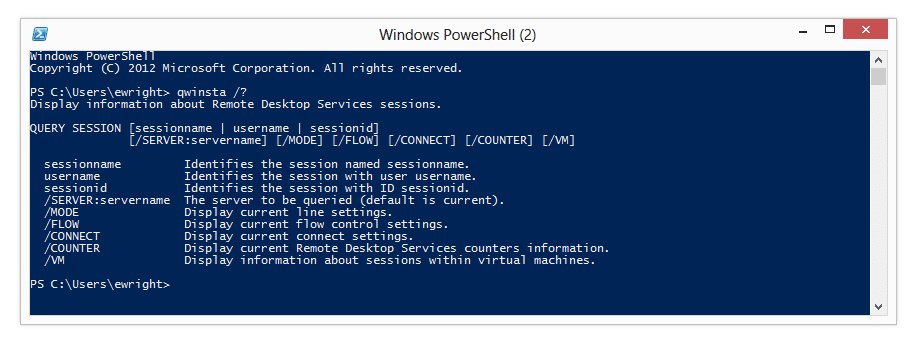 Finding RDP sessions on servers using PowerShell