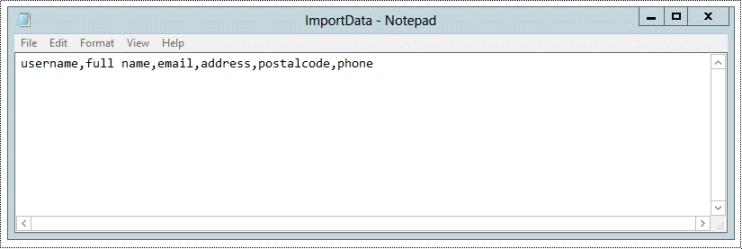 powershell import-csv header added