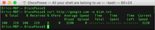 curl-google-file