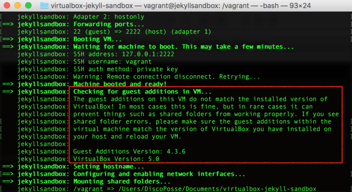 vagrant-guest-additions-out-of-date