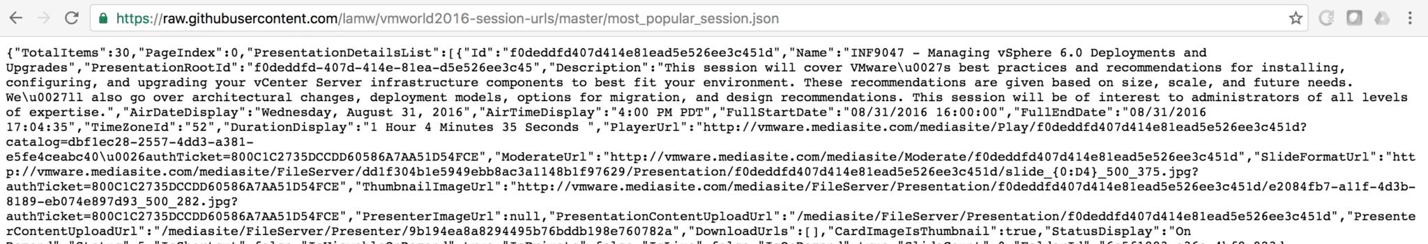 Using jq to pretty print JSON output | DiscoPosse com