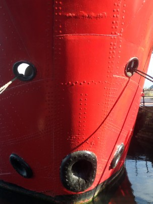 bow of more lighthouse boat