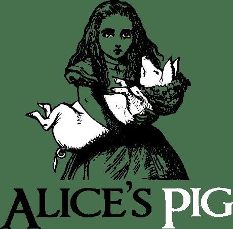 Alice Pig Logo