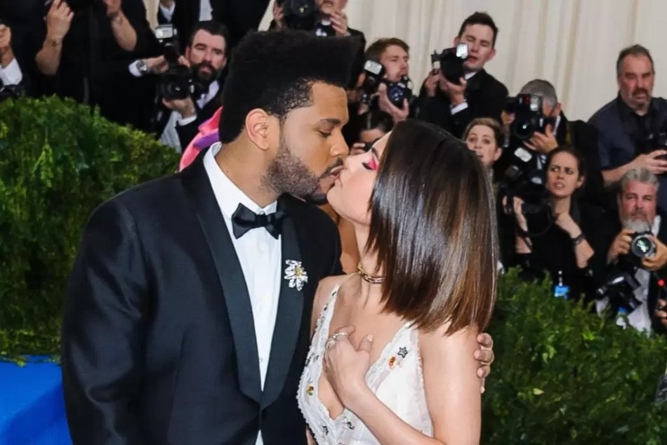 Selena Gomez The Weeknd MEt Gala 2017