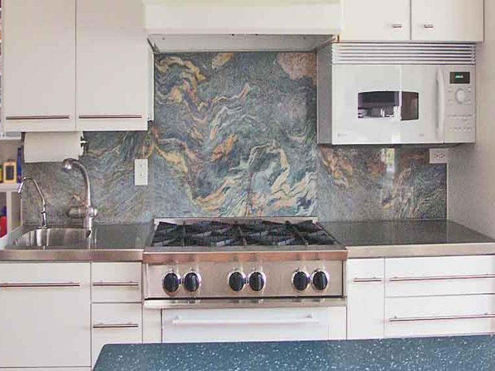 Granite Backsplash 17 - Discounted Granite on Granite Stove Backsplash  id=98892