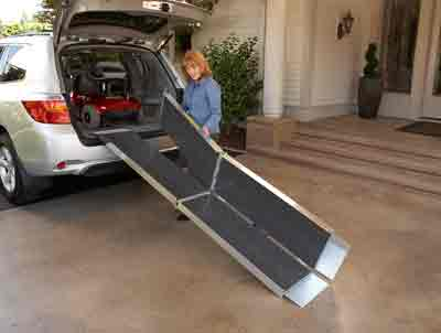 Folding Wheelchair Amp Scooter Ramp Discount Mobility