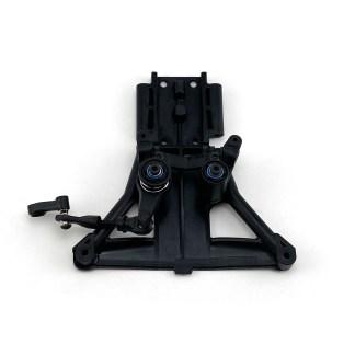 Traxxas Rustler 4X4 VXL Steering Bellcranks Servo Saver Front Bulkhead Assembly