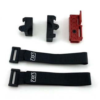 Arrma Senton V3 4X4 Mega Battery Mounting Set Spline Block Tie Down Strap