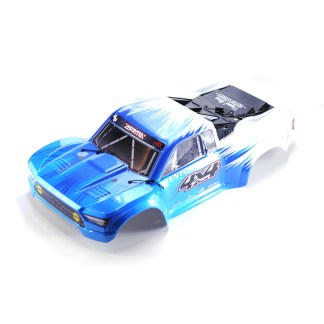 Arrma Senton V3 4X4 Mega Painted Decaled Trimmed Body Shell (Blue/White)