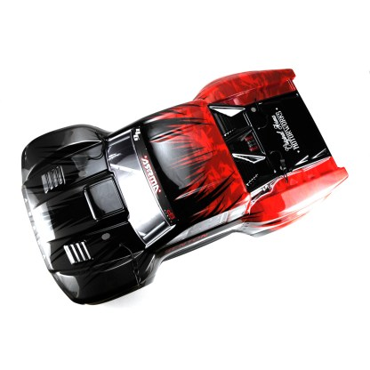 Arrma Senton V3 4X4 Mega Painted Decaled Trimmed Body Shell (Red/Black)