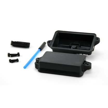 Traxxas Rustler 2WD VXL Receiver Radio Box with Antenna Tube