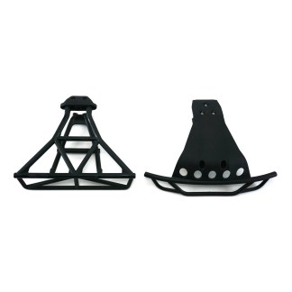 Traxxas Slash 4X4 VXL Front and Rear Bumpers with Bumper Mounts