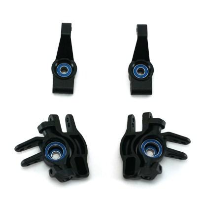 Traxxas Slash 4X4 VXL Steering Caster Blocks C-Hub Axle Carriers w/ Bearings