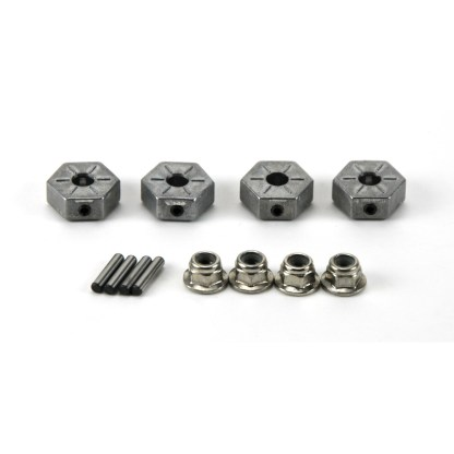 Arrma Granite V3 4X4 3S BLX Metal 14mm Wheel Hex w/ Wheel Nuts